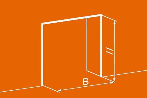 wymiary kurtyny paskowej - instrukcja dokonywania pomiarów
