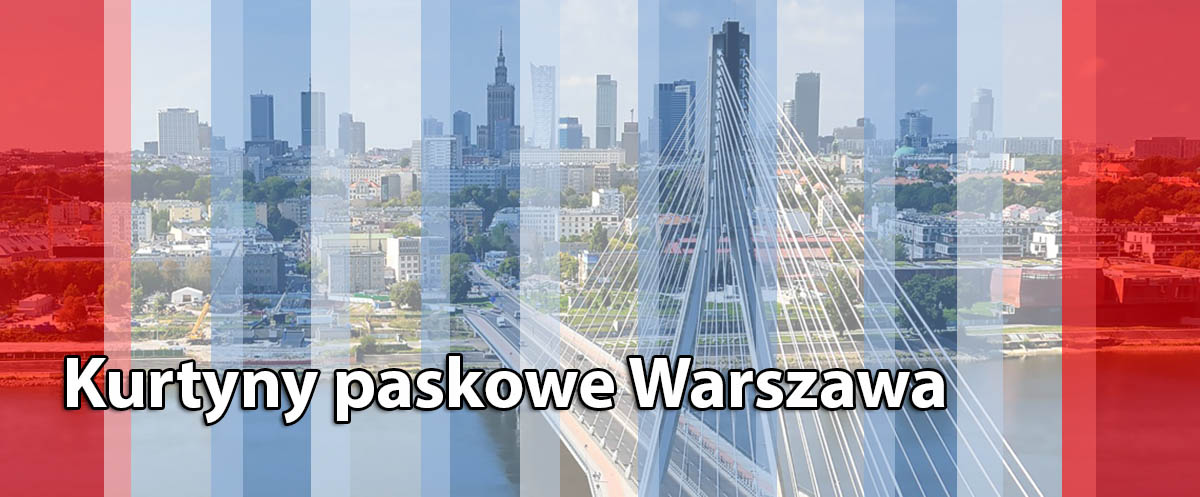 Przemysłowe kurtyny paskowe Warszawa Radom Płock Warka