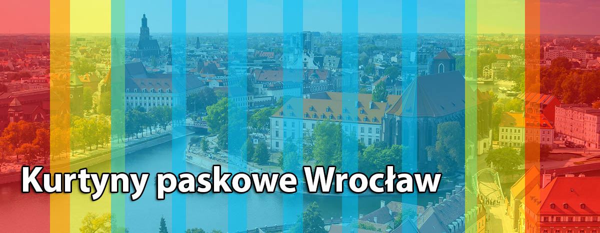Przemysłowe kurtyny paskowe Wrocław dolnośląskie
