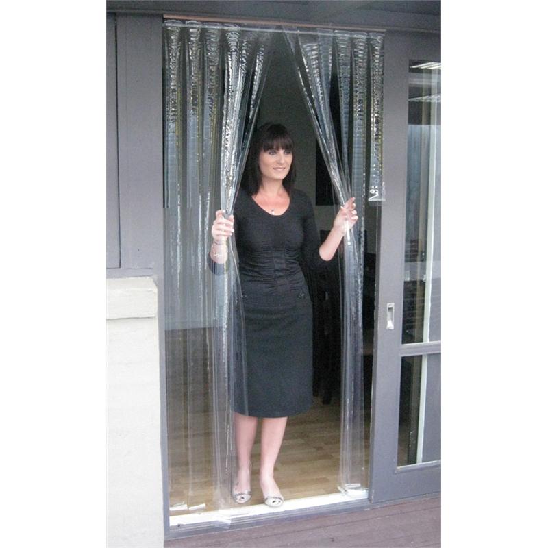 Zasłona na drzwi z pasów foliowych 100mm