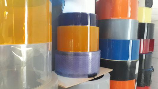 Folia kolorowa w rolkach