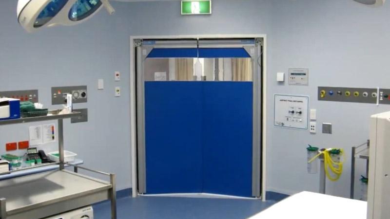 bramy wahadłowe w szpitalach