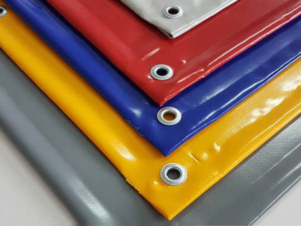 Kolorowe kurtyny plandekowe - paleta dostępnych barw