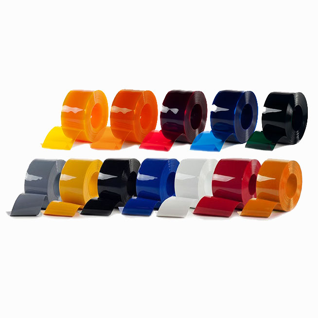 Pasy PCV w kolorowych rolkach