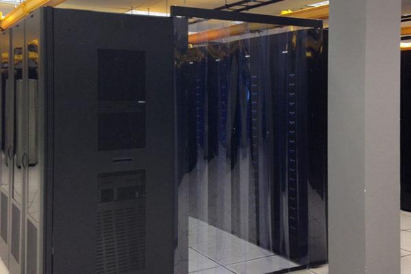 Pas PCV antystatyczny do izolacji termicznej data center