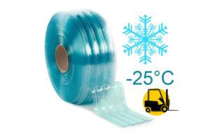 Żebrowany pas PCV Polar do chłodni i izoterm