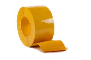 Pas PCV żółty nieprzezroczysty na metry