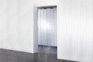 Kurtyna na drzwi z pasów folii PCV Standard w rozmiarze 200x2mm