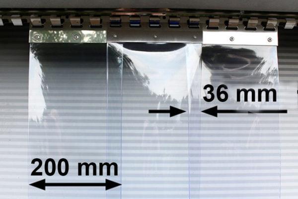 Kurtna paskowa Standard z pasów 200x2mm z zakładem 36mm