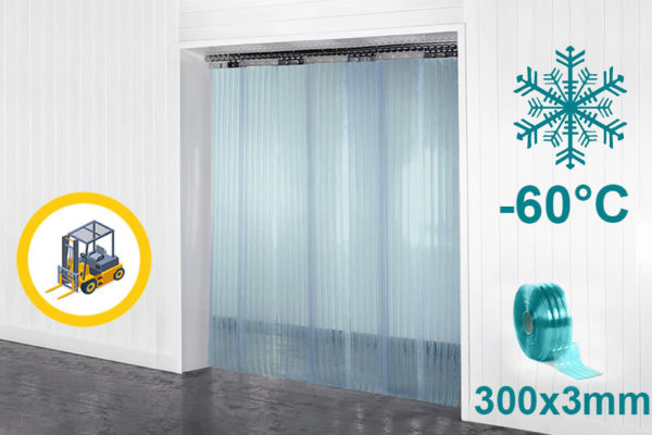Żebrowana kurtyna chłodnicza Super Polar 300x3mm