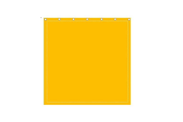 Przegroda plandekowa pełna 3x3m kolorowa