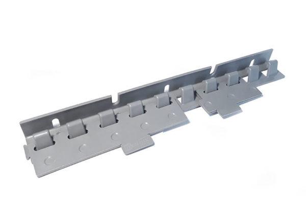 Płytki mocujące EasyClick z PCV na wieszaku grzebieniowym EasyLine