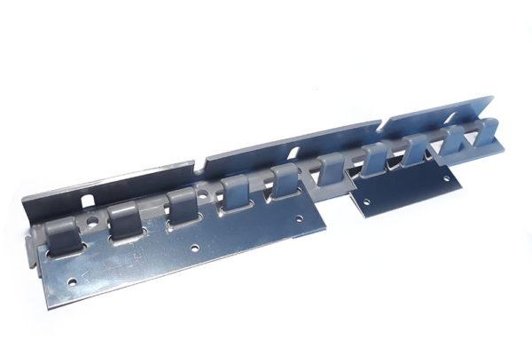 Wieszak hakowy EasyLine z płytkami mocującymi ze stali nierdzewnej INOX