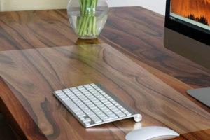 Mata ochronna na biurko z przezroczystej folii PCV o grubości 2mm