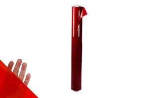 Czerwona folia spawalnicza w arkuszu o szerokości 140 cm