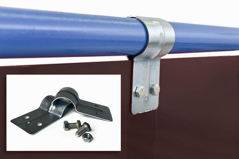 Folia spawalnicza w formie pasó mocowanych na obejmy zaciskowe lub mankiety