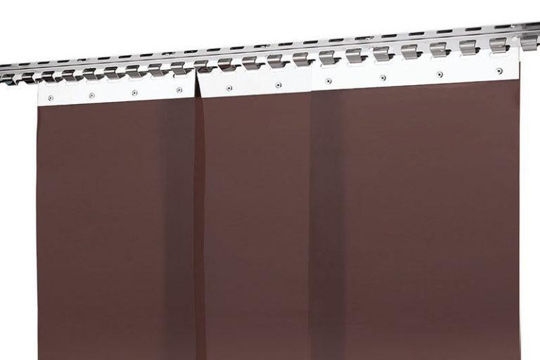 Kurtyna spawalnicza brązowa z pasów 300x2mm