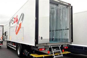 Kurtyny do ciężarówek typu izoterma i busów dostawczych