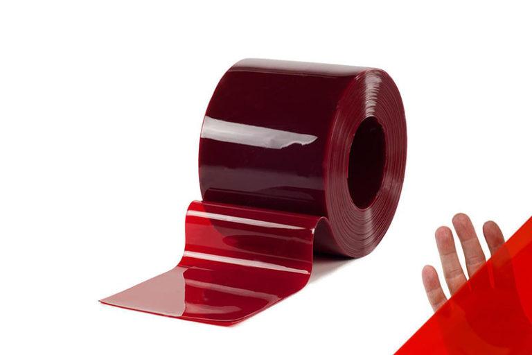 Lamela spawalnicza czerwona 300x2 mm o dużej przezroczystości