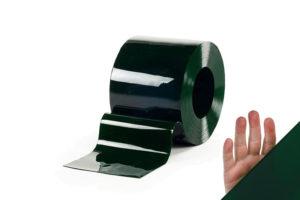 Lamela spawalnicza zielona, przezroczysta w rozmiarze 300x2mm na metry lub rolki